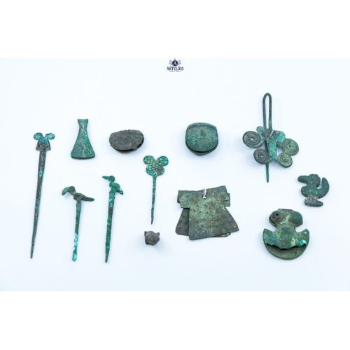 Petit trésor précolombien - Pérou, Vicus ou Mochica 300 à 100 ACN