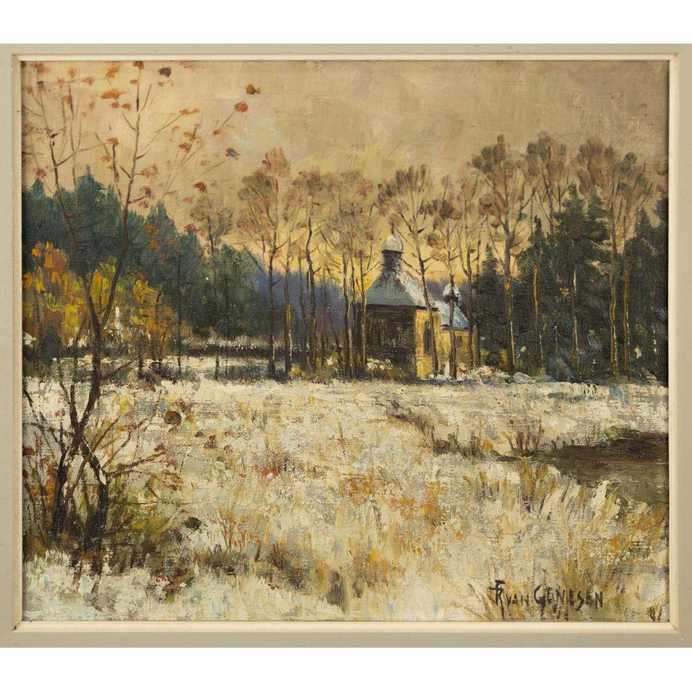 Frans VAN GENESEN (Tilburg 1887 - Laeken 1945). École belge