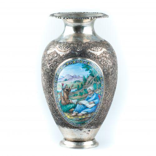 Silver vase - Iran