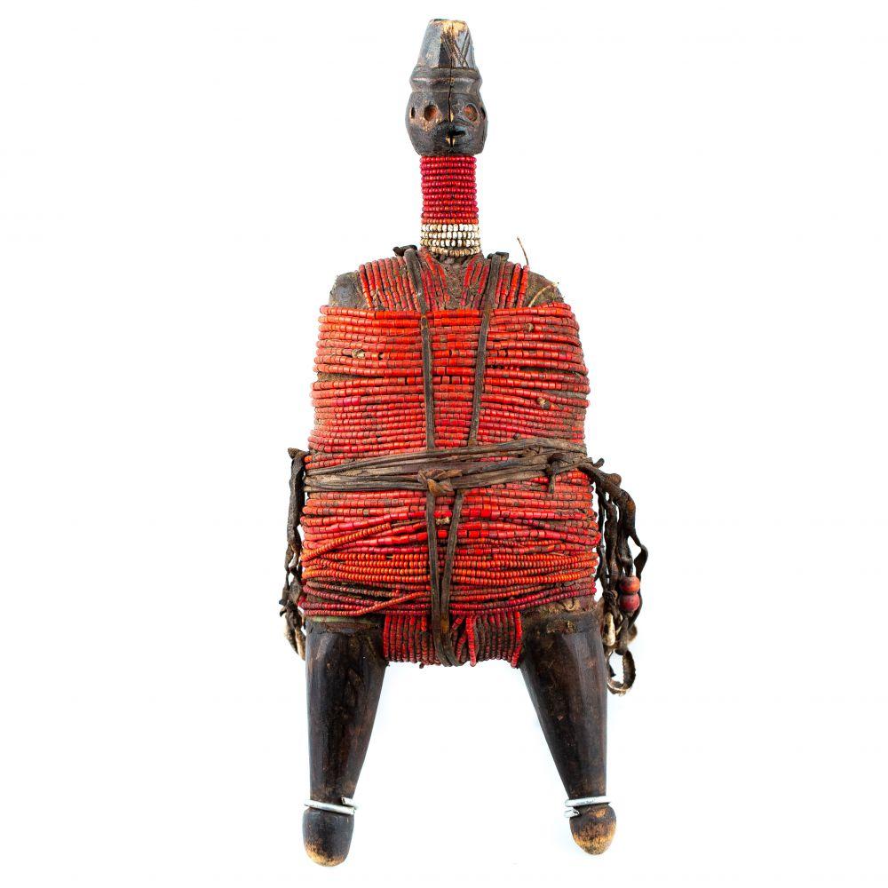 Fétiche Africain rouge