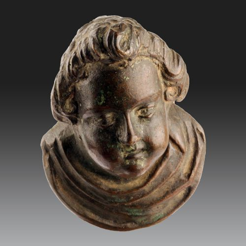 HEAD OF PUTTO, Italy, attributed to Venice, ca. 1600