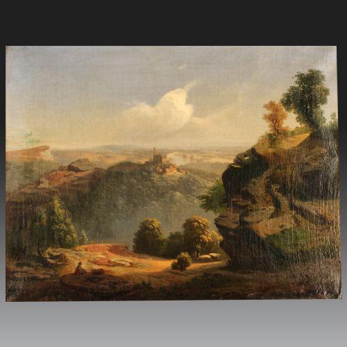 NESTOR SCHAFFERS(Liège 1826 – Gand 1896). École Belge.