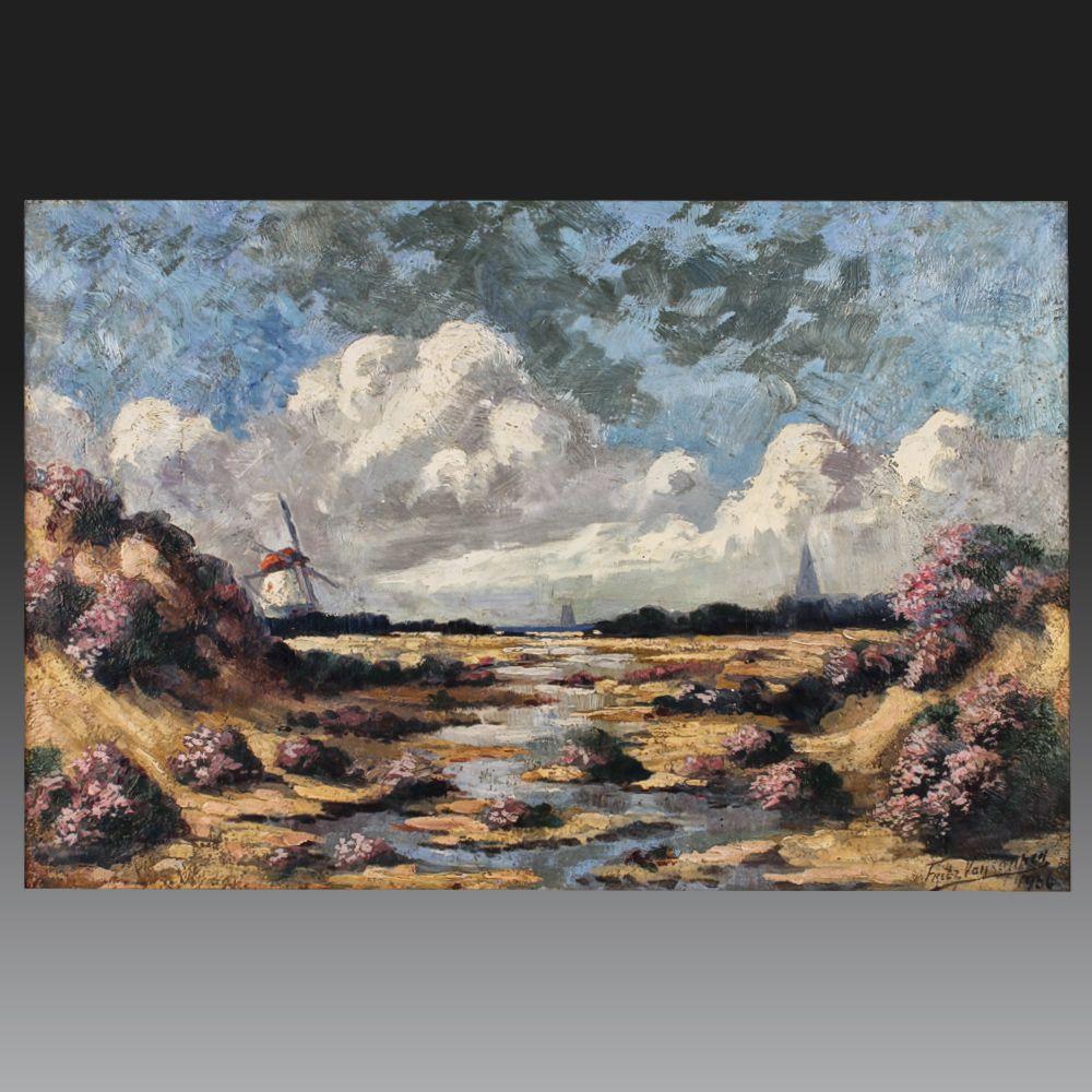 Fritz VAN LUPPEN. Ecole flamande