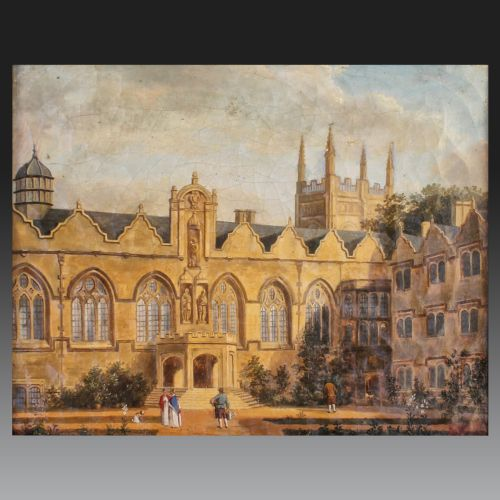 Œuvre de l'école anglaise, 2ème moitié du 18ème siècle