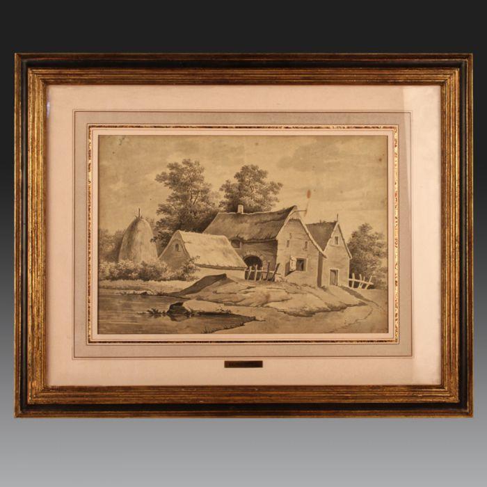 Jacques WILBAUT (1729 - Château-Porcien - 1816). French school