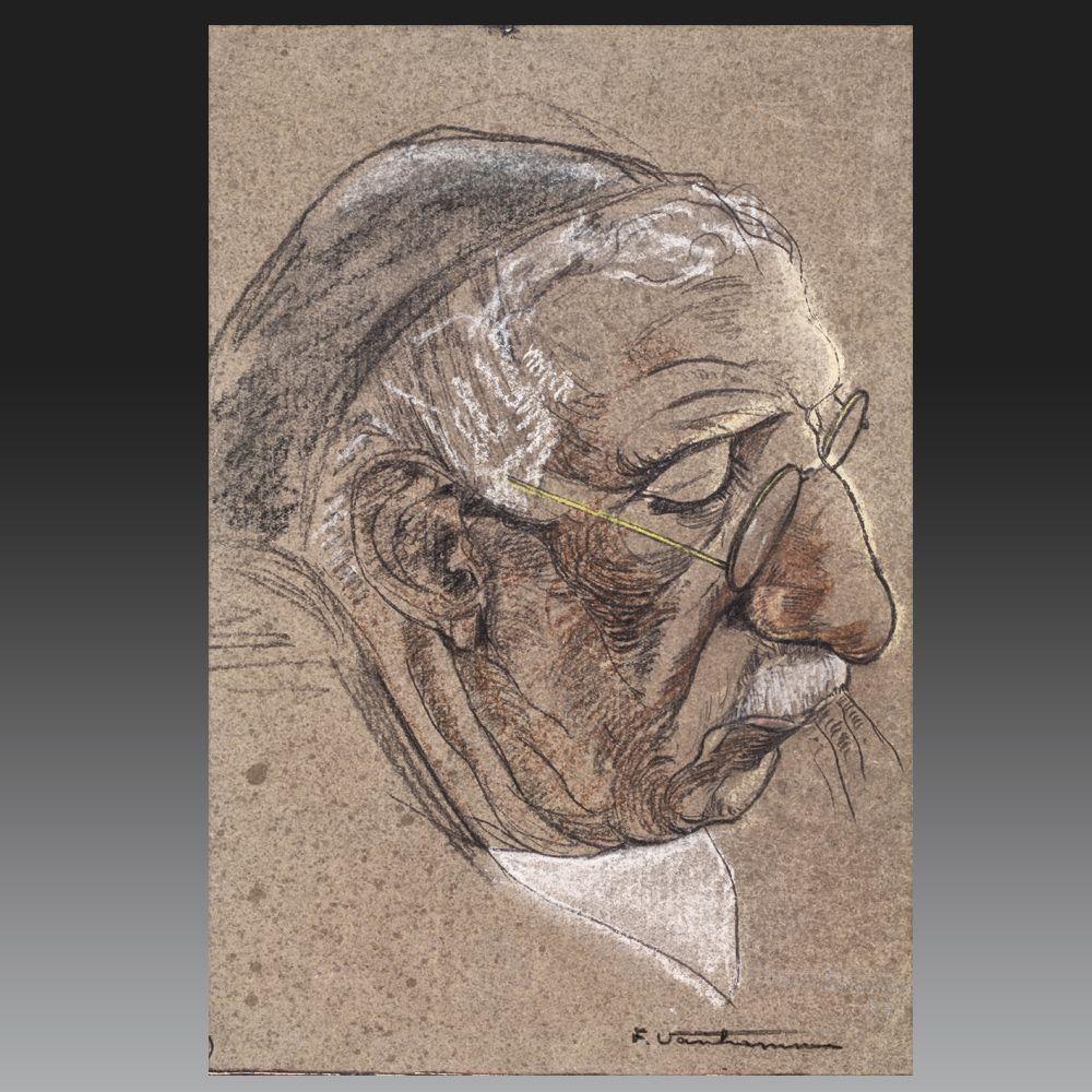 Fernand VAN HAMME (Saint-Josse-ten-Noode 1911 – Bruxelles 1976). Ecole belge