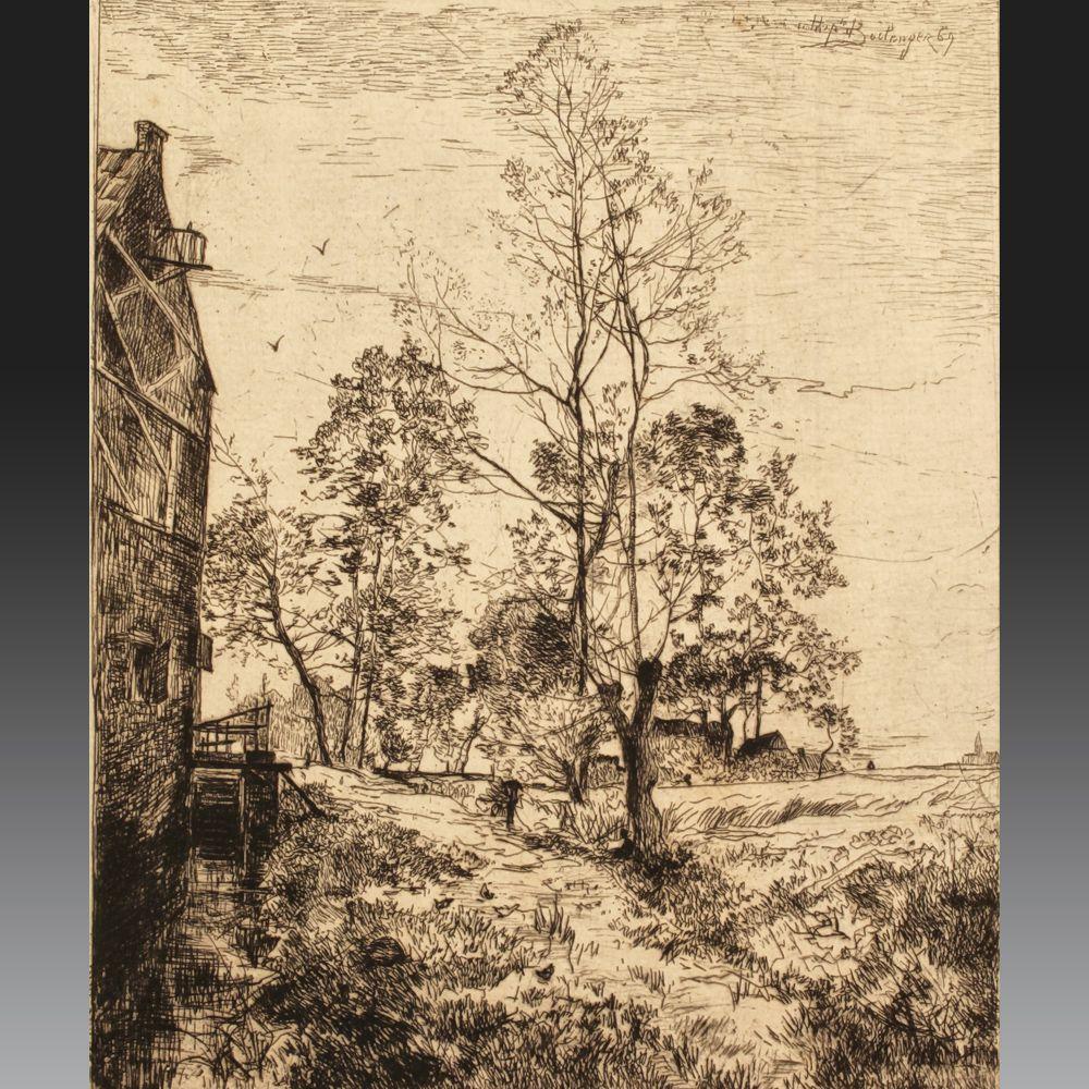 Hippolyte BOULENGER (Tournai 1837 - Bruxelles 1874), école belge