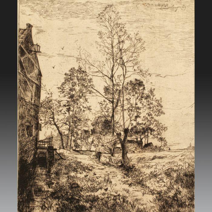 Hippolyte BOULENGER (Tournai 1837 - Brussels 1874), Belgian school