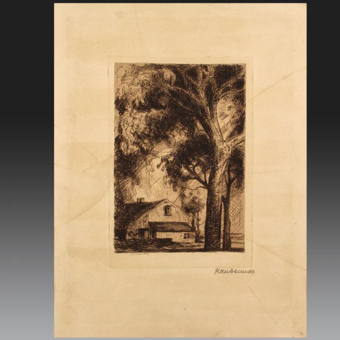 Jean DONNAY (Cheratte 1897 - Liège 1992) , école belge