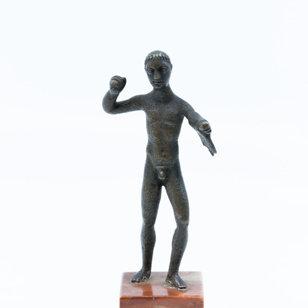 Hercules - Etruscan statuette, around the 6th - 5th centuries ACN