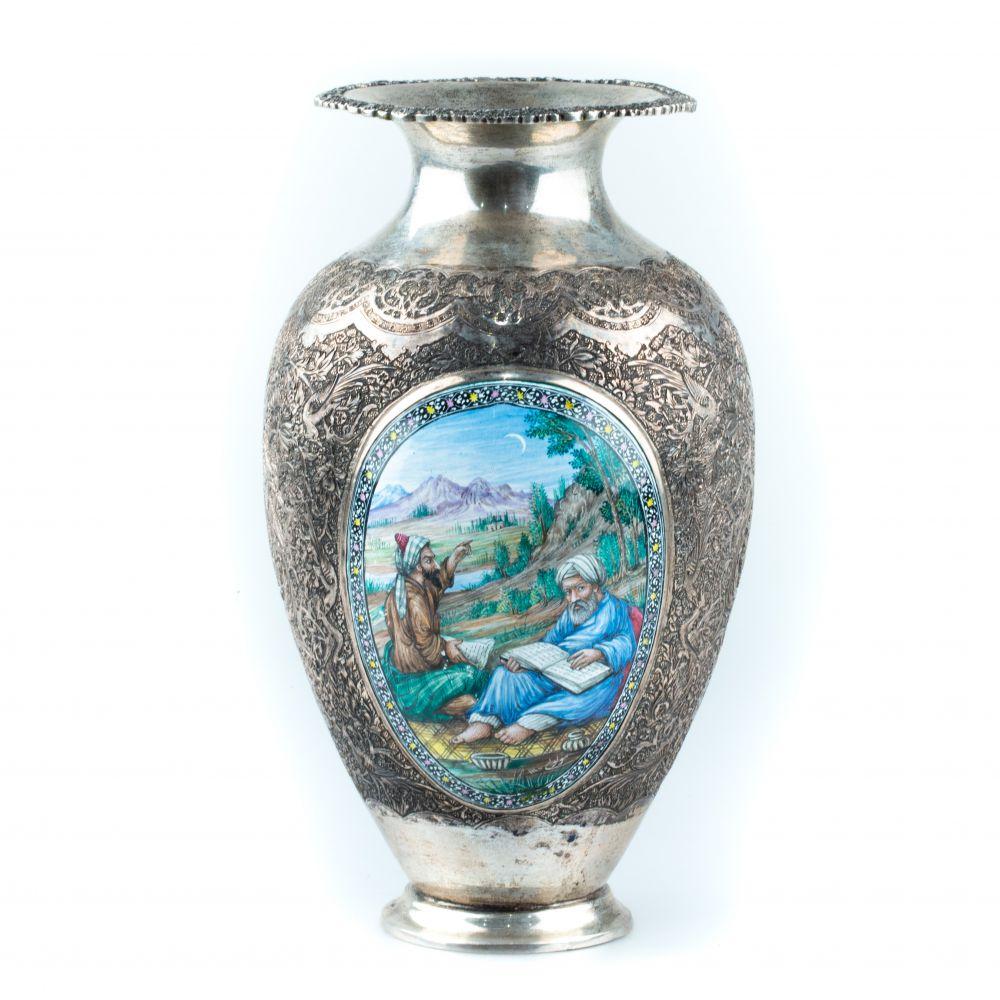 Vase Argent