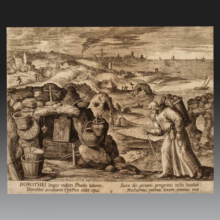 RAPHAËL SADELER (Anvers 1560 – Munich 1628). École Belge.