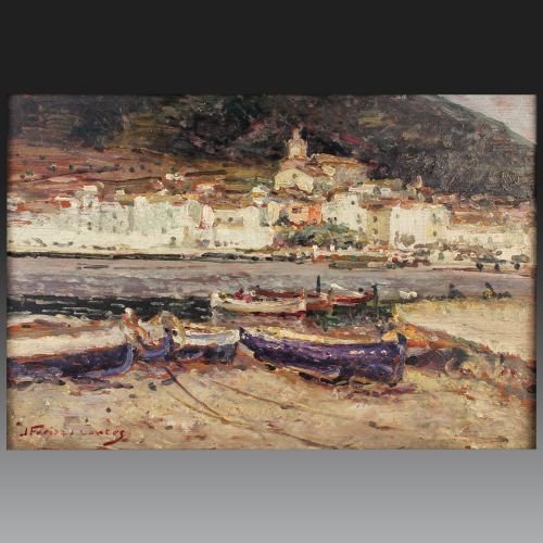 FREIXAS CORTES JORDI (Barcelone 1917 – 1984). École espagnole