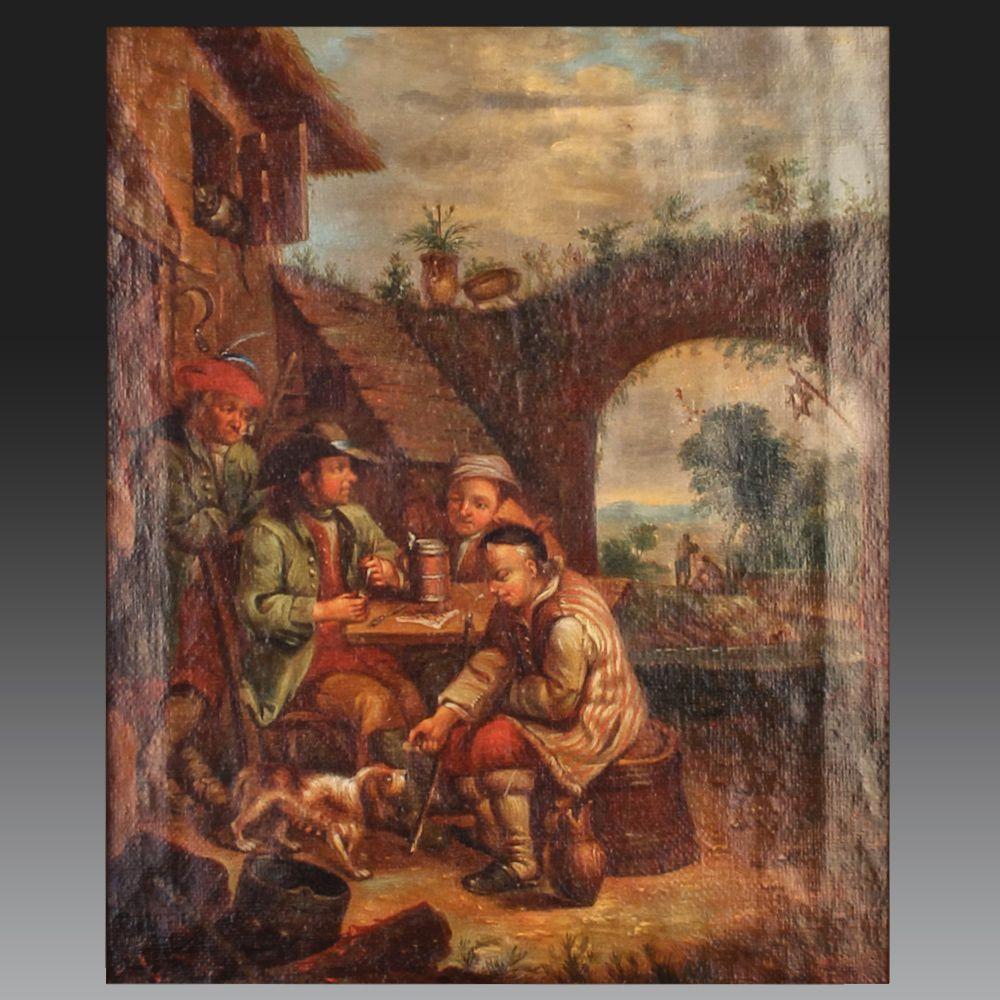 18th CENTURY FRANCO-FLEMISH SCHOOL