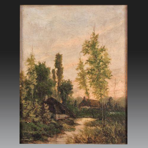 Joseph Van GENEGEN (Anvers 1857-1936). Belgian school