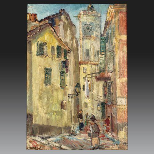 René CLAROT (Anderlecht 1882 - Ixelles 1972). Belgian school