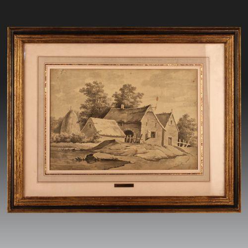 Jacques WILBAUT (1729 - Château-Porcien - 1816). Ecole française