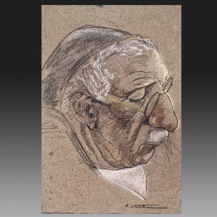 Fernand VAN HAMME (Saint-Josse-Ten-Noode 1911 - Bruxelles 1976). Belgian school